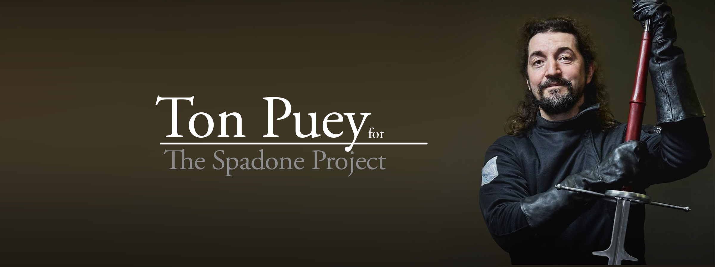 Iberian montante: an interview with Ton Puey